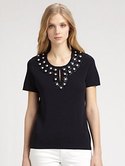 Tory Burch - Merino Wool Adrianna Sweater