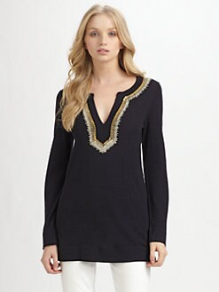 Tory Burch - Merino Wool Dove Tunic