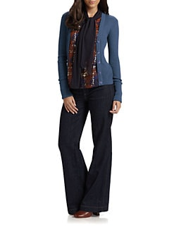 Tory Burch - Simone Shrunken Cardigan