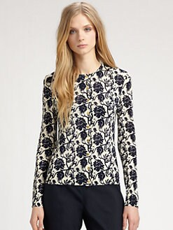 Tory Burch - Wool Oleander Cardigan