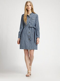 Tory Burch - Denim Cora Dress