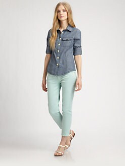 Tory Burch - Chambray Taylor Shirt