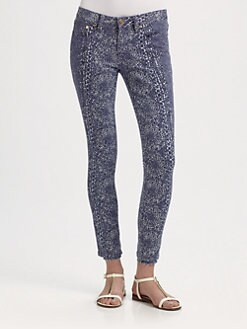 Tory Burch - Ivy Super-Skinny Jeans