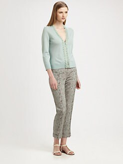 Tory Burch - Merino Wool Barrett Cardigan