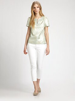 Tory Burch - Broacade Lola Top