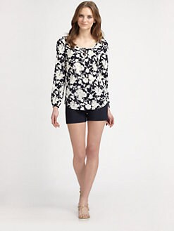 Tory Burch - Angie Stretch Silk Blouse