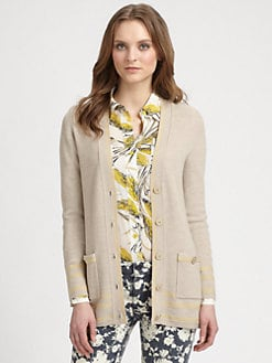 Tory Burch - Mallorie Merino Wool Cardigan