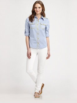 Tory Burch - Brigitte Cotton Blouse