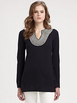 Tory Burch - Merino Wool Franky Tunic