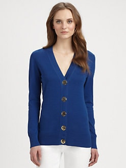 Tory Burch - Simone Cotton Cardigan Sweater