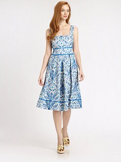 Tory Burch - Ramona Ribbon-Trimmed Dress