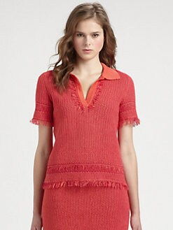 Tory Burch - Brielle Polo Sweater