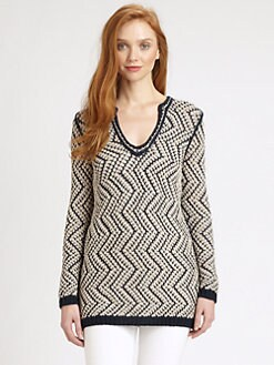 Tory Burch - Ricki Tunic Sweater