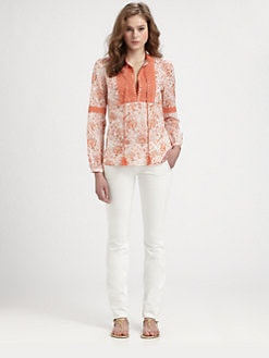 Tory Burch - Cotton Gracelynn Top