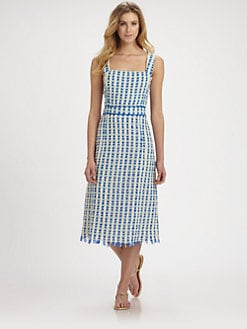 Tory Burch - Evelin Woven Silk Dress