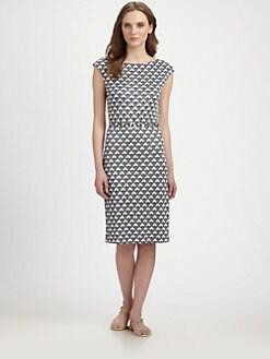 Tory Burch - Kalvin Silk Knit Dress