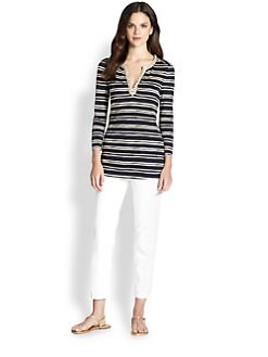 Tory Burch - Silk Evan Tunic