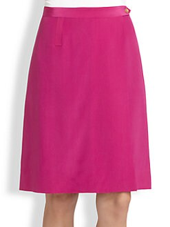 Tory Burch - Silk Caleb Skirt