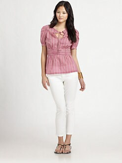 Tory Burch - Cotton Ruth Top