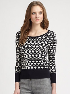 Tory Burch - Cotton Falon Sweater