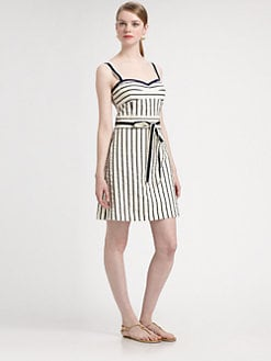 Tory Burch - Kinnsley Striped Dress