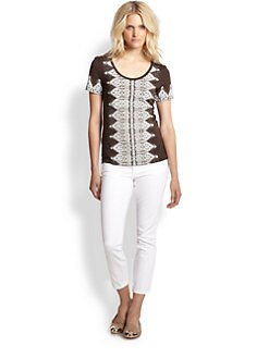 Tory Burch - Ella Cotton Tee