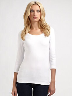 Rivamonti - Stretch Cotton Rib Tee