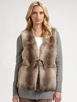 Rivamonti - Reversible Rabbit Fur Wool-Blend Vest
