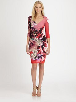 Roberto Cavalli - Printed Stretch Dress