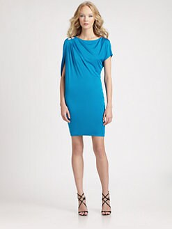 Roberto Cavalli - Asymmetrical Jersey Knit Dress
