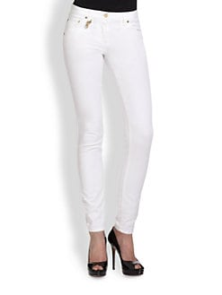 Roberto Cavalli - Mid-Rise Skinny Jeans