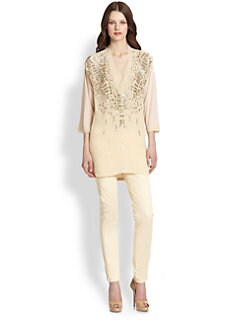 Roberto Cavalli - Beaded Silk Tunic
