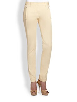 Roberto Cavalli - Stretch Cotton Skinny Pants