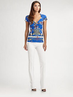 Roberto Cavalli - Thalassa Print Tee