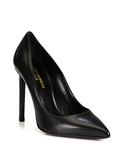 Saint Laurent - Paris Leather Pumps
