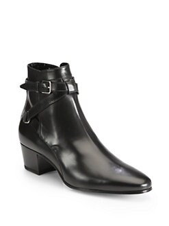 Saint Laurent - Jodhpur Ankle Boot in Leather