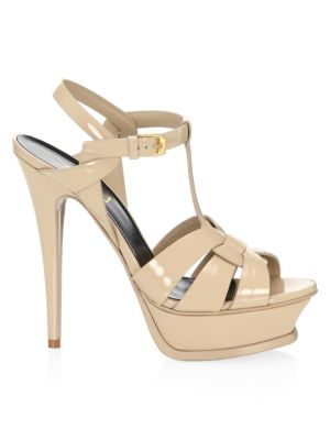 Tribute 105 Patent Leather Platform Sandals