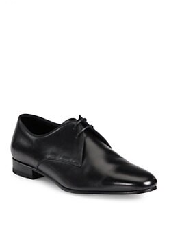 Saint Laurent - Blake Leather Lace-Up Derby