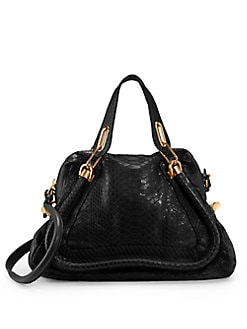 Chloe - Paraty Python Tote