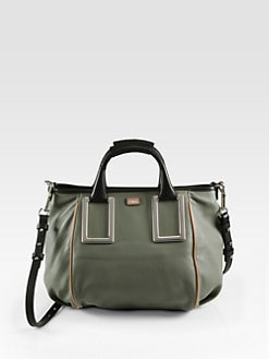 Chloe - Ethel Tri-Color Satchel