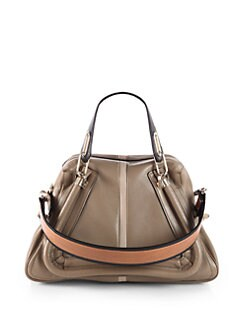 Chloe - Paraty Medium Colorblock Shoulder Bag