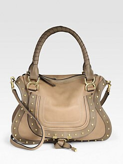 Chloe - Marcie Small Studded Satchel