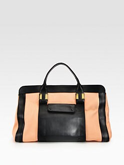 Chloe - Alice Springs Colorblock Large Tote