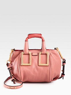 Chloe - Mini Ethel Leather Crossbody Bag