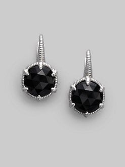 Judith Ripka - Black Onyx & Sterling Silver Earrings