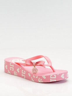 Juicy Couture - Rubber Platform Flip Flops