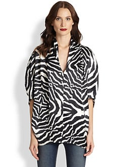 Just Cavalli - Optic Zebra-Print Tunic