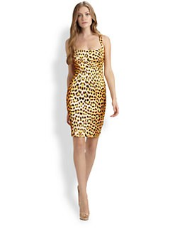 Just Cavalli - Leopard-Print Dress
