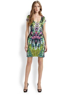Just Cavalli - Jungle-Print Jersey Dress