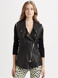 Just Cavalli - Leather Vest